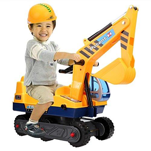 Smibie Sitzbagger Neue Kinder Spielzeug Caterpillar Bagger LKW Spielzeug Sandbagger für Kinder mit...