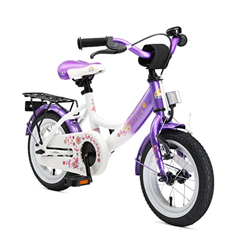 BIKESTAR Premium Sicherheits Kinderfahrrad 12 Zoll für Mädchen ab 3-4 Jahre | 12er Kinderrad Classic |...