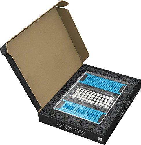 GEOMAG Masterbox Large 184 - Magnetstäbe Spielzeug - Himmelblau - 248-teilige Box