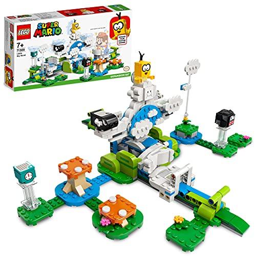 LEGO 71389 Super Mario Lakitus Wolkenwelt – Erweiterungsset, baubares Kinderspielzeug zum Sammeln,...