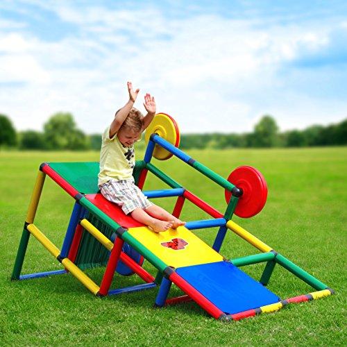 Quadro | Basic | Klettergerüst für drinnen und draußen | Fördert Entwicklung von Kindern | Beliebig...