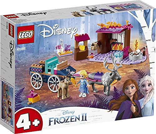 LEGO 41166 Disney Princess Frozen Die Eiskönigin 2 ELSA und die Rentierkutsche, Bauset mit...