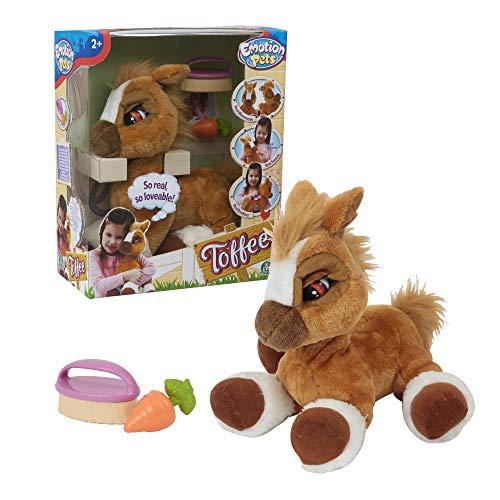 Giochi Preziosi 70606301 Emotion Pets Toffee 36cm Funktionspferd, braun