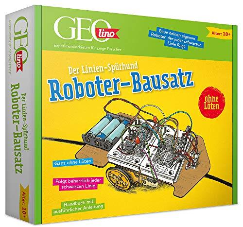 Franzis 67076 GEOlino Roboter-Bausatz: Der Linien Spürhund
