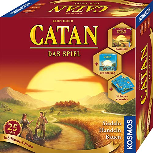 Kosmos 695217 Catan - Jubiläums-Edition 2020 Strategiespiel