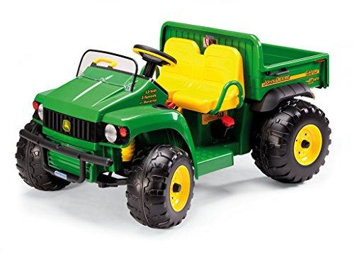 Peg Perego OD0009 - 12V John Deere Gator für 2 Kinder