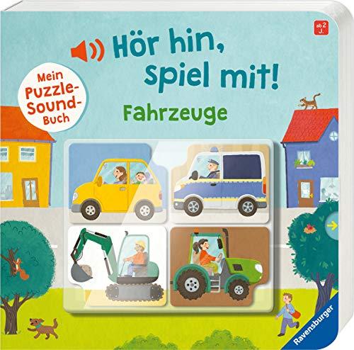 Hör hin, spiel mit! Mein Puzzle-Soundbuch: Fahrzeuge