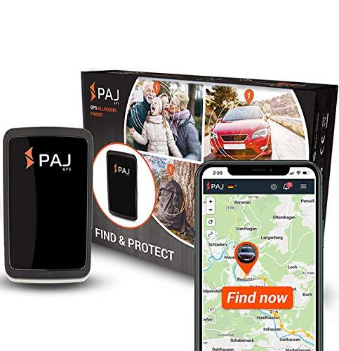 PAJ GPS Allround Finder Version 2020- GPS Tracker etwa 20 Tage Akkulaufzeit (bis zu 60 Tage im Standby...