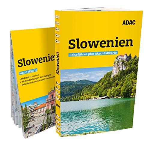 ADAC Reiseführer plus Slowenien: Mit Maxi-Faltkarte und praktischer Spiralbindung