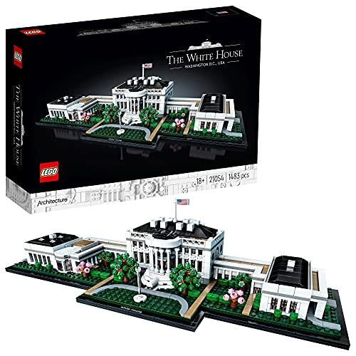 LEGO 21054 Architecture Das Weiße Haus Bauset für Erwachsene, Geschenkidee für Sammler