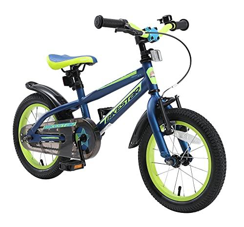 BIKESTAR Kinderfahrrad 14 Zoll für Mädchen und Jungen ab 4 Jahre   Kinderrad Urban Jungle   Fahrrad...