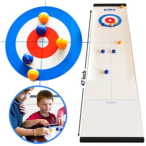 Elite Sportz: Curling Tischspiel