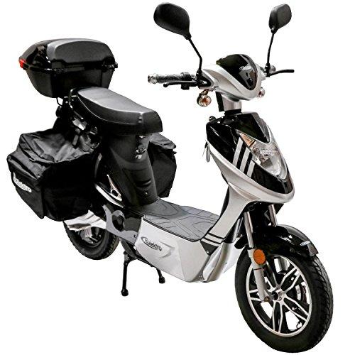 Rolektro Elektroroller eco-City Plus 45 km/h - 500W E-Scooter 50km E-Roller mit Straßenzulassung -...