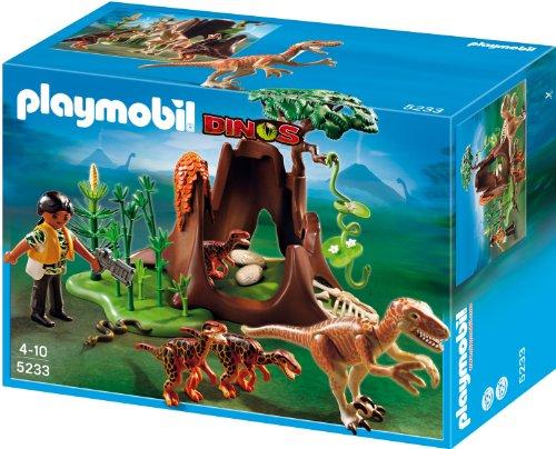 Playmobil 5233 - Velociraptor-Angriff auf Deinonychusnest