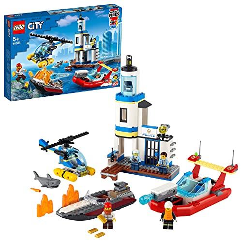 Spiel-Bauset 'Polizei und Feuerwehr im Küsteneinsatz' von LEGO City