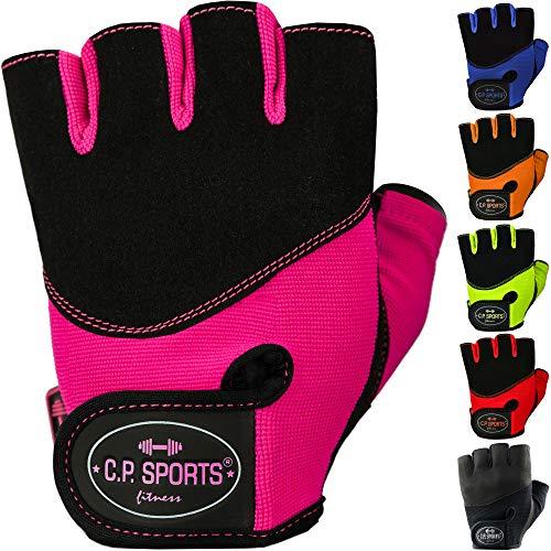 C.P. Sports Iron-Handschuh Komfort farbig Trainingshandschuh Fitness Handschuhe für Damen und Herren,...