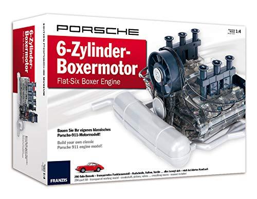 Franzis Porsche 6-Zylinder-Boxermotor - Flat-Six Boxer Engine: Bauen Sie Ihr eigenes klassisches...