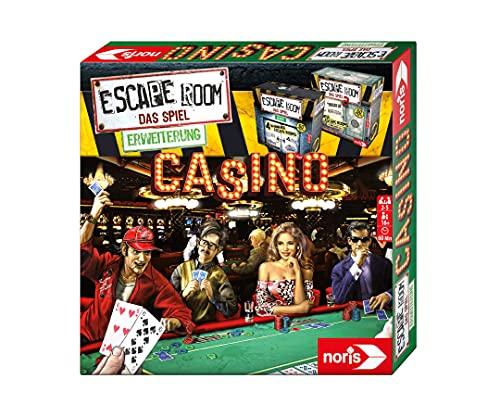Noris 606101641 - Escape Room Erweiterung Casino - Familien und Gesellschaftsspiel für Erwachsene - Nur...