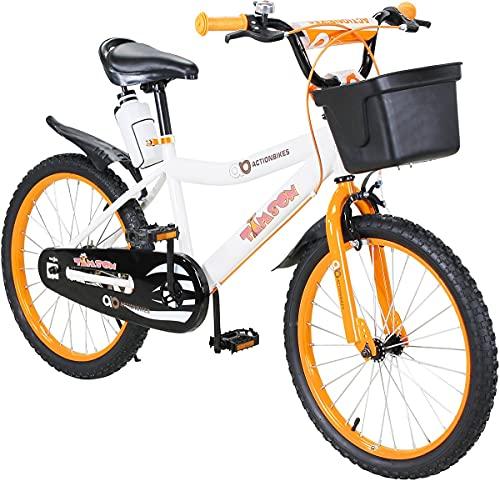 Actionbikes Kinderfahrrad Timson - 20 Zoll - V-Break Bremse vorne - Seitenständer - Luftbereifung - Ab...