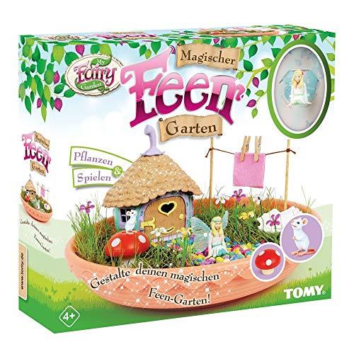 My Fairy Garden Spielzeugset, Magischer Feen Garten, Garten für Kinder zum Selber Pflanzen & Spielen,...