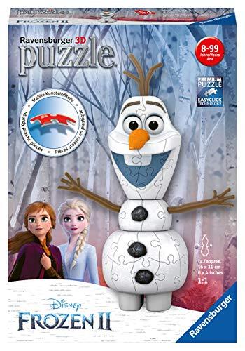 Ravensburger 3D Puzzle 11157 - Olaf - 54 Teile