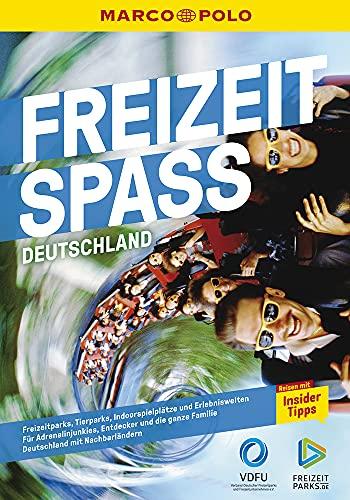 MARCO POLO Freizeitspass: Freizeitparks in Deutschland; Outdoor- / Indoorattraktionen; für...