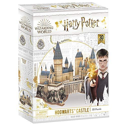 3D Puzzle Harry Potter Hogwarts Schloss Schule, Magic Model Making Kit, DIY BAU Spielzeug Geschenk für...