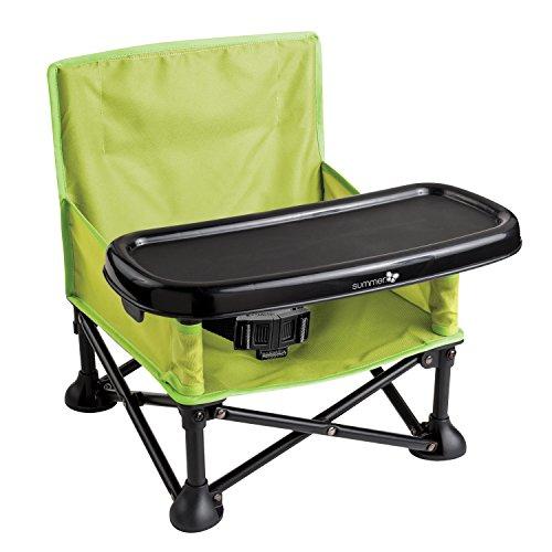 Summer Infant Pop n' Sit Faltbarer Kindersitz / Boostersitz - Grün