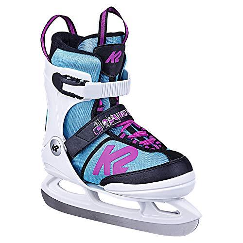 K2 Skates Mädchen Schlittschuhe Juno Ice — white - light blue — EU: 35 - 40 (UK: 3 - 7 / US: 4 - 8)...