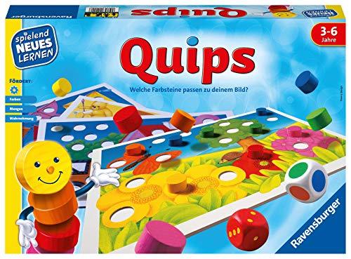Ravensburger 24920 – Quips - Spielen und Lernen für Kinder, Lernspiel für Kinder von 3-6 Jahren,...