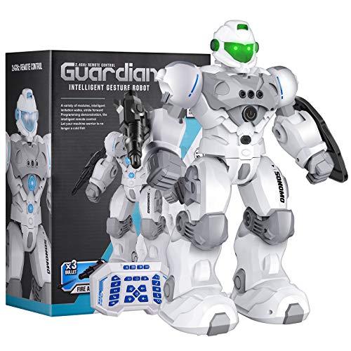 Sonomo Roboter Kinder Spielzeug, Ferngesteuerter Roboter Spielzeug für Kinder, RC-Roboter für Kinder,...