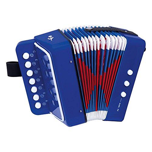 Bino & Mertens 86584 Akkordeon, Spielzeug für Kinder ab 3 Jahre, Kinderspielzeug (Kinder Musikinstrument...