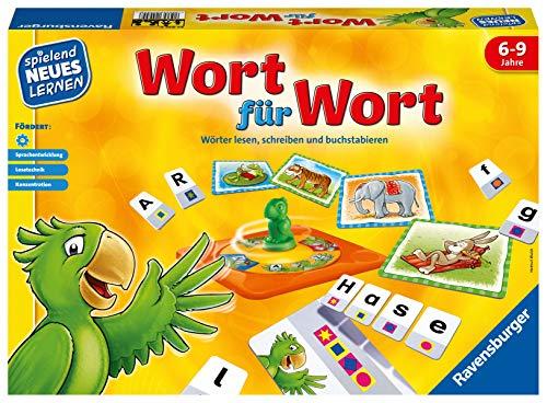 Ravensburger 24955 - Wort für Wort - Spielen und Lernen für Kinder, Lernspiel für Kinder von 6-9...