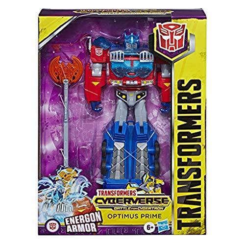 Transformers Spielzeuge Cyberverse Ultimate-Klasse Optimus Prime Action-Figur – lässt Sich für mehr...