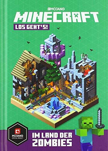 Minecraft, Los geht's! Im Land der Zombies: Ein offizielles Minecraft-Buch (Minecraft - Schnelleinstieg,...