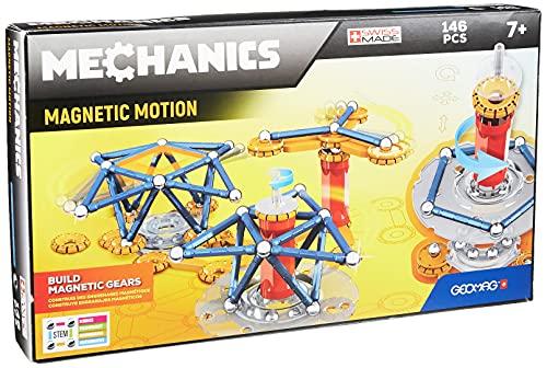 Geomag 762 Mechanics Magnetic Motion 146pcs, Mehrfarbig