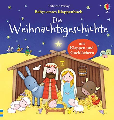 Babys erstes Klappenbuch: 'Die Weihnachtsgeschichte' von Sam Taplin, Usborne Verlag