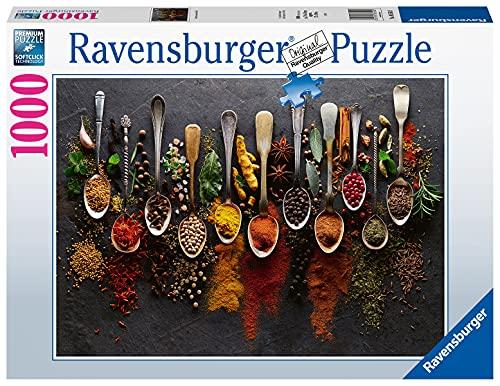 Ravensburger Puzzle 1000 Teile - Gewürze aus aller Welt - Puzzle für Erwachsene und Kinder ab 14...