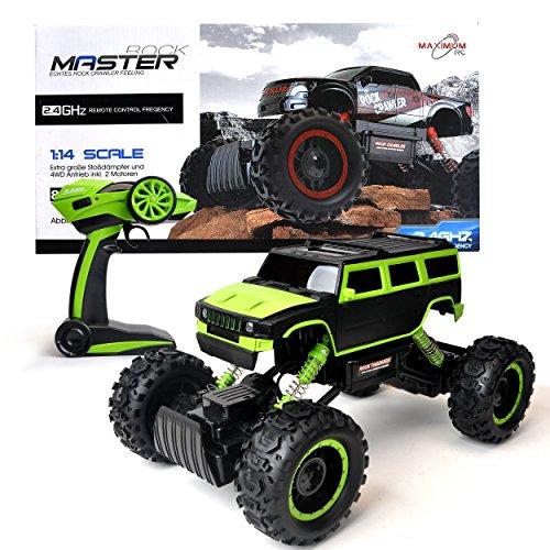 Maximum RC Ferngesteuertes Auto für Kinder - 4WD Monstertruck - XL RC Auto für Kinder ab 8 Jahren -...