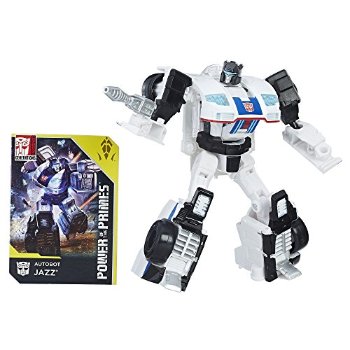 TRANSFORMERS GENERATIONS POWER OF THE PRIMES DELUXE CLASS AUTOBOT JAZZ ACTIONFIGUR