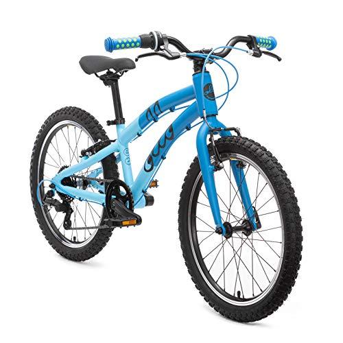 OLLO Premium Kinderfahrrad 20 Zoll (ab 6 Jahre) für Jungen & Mädchen (nur 8,9 kg) - blau