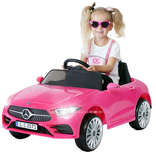 Actionbikes Motors Kinder Elektroauto Mercedes Benz CLS 350 - Lizenziert - Rc 2,4 Ghz Fernbedienung - Led...