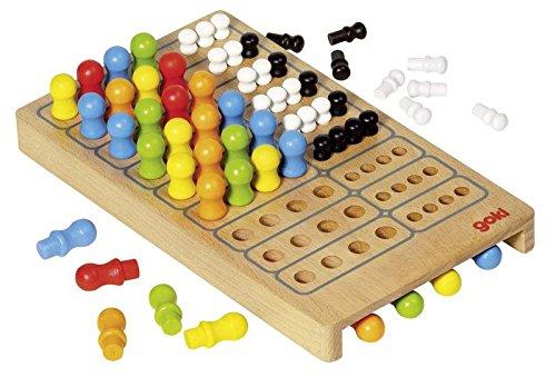 Goki 56708 - Brettspiel - Master Logic, Basic