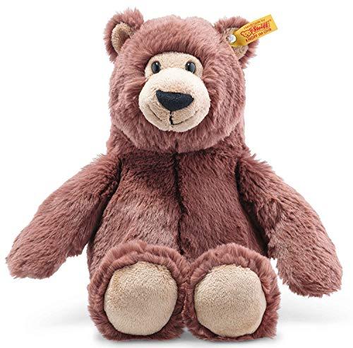 Steiff Bella Bär, Original Plüschtier 30 cm, Plüschbär Teddy sitzend, Kuscheltier für Kinder, Soft...