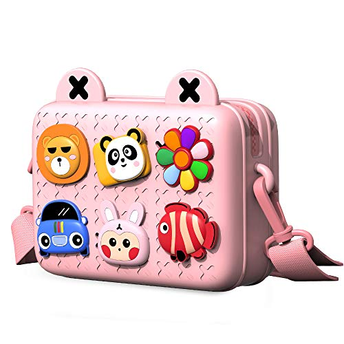 Richgv Kinder Crossbody Bag Umhängetasche Handtasche für Kinder,EVA Material Kein Verblassen Kein...