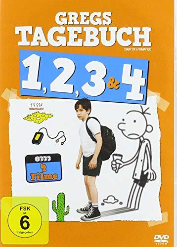 Gregs Tagebuch 1, 2, 3 & 4 [4 DVDs]