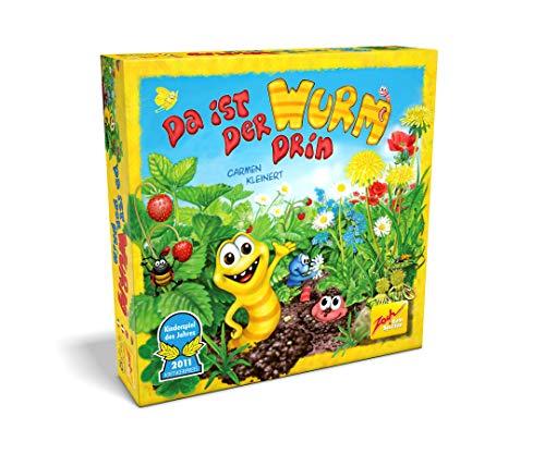 Zoch 601132100 Da ist der Wurm drin, Kinderspiel 2011, kinderleichtes und gewitztes Würfel-und...