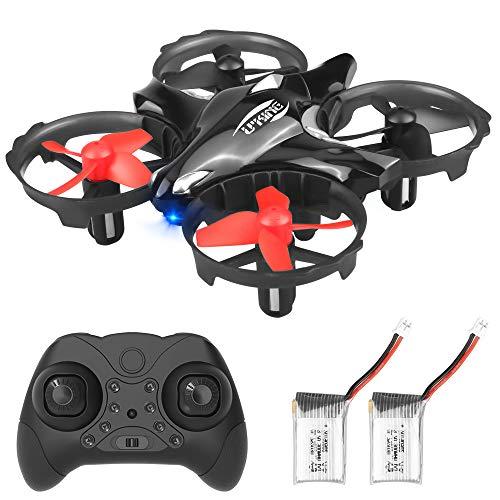U`King Mini Drohne Helikopter für Kinder und Anfänger, RC Drone Quadrocopter mit Hinderniserkennung,...