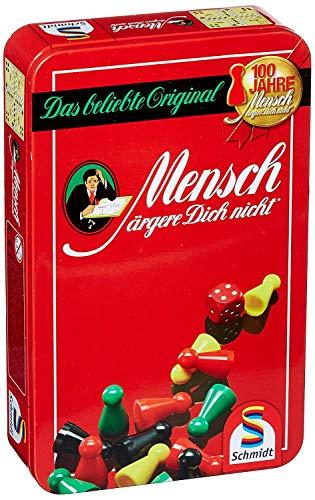 Schmidt Spiele - Mensch ärgere Dich Nicht, Bring Mich mit Spiel in der Metalldose
