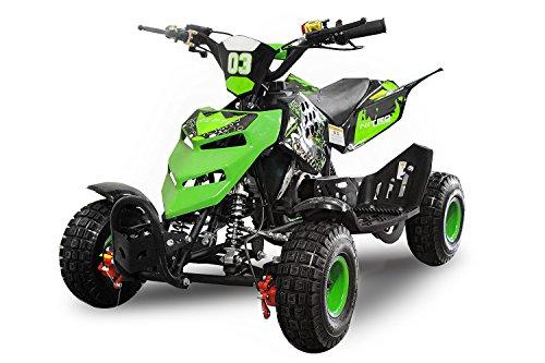 Nitro Motors 49cc Kinderquad Repti 4' Miniquad Mini Quad ATV Bike Kinder (Blau)